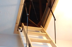 Larger new or made bigger loft hatches